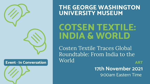 21.11.17 (Wed Nov 17th) | Cotsen Text...