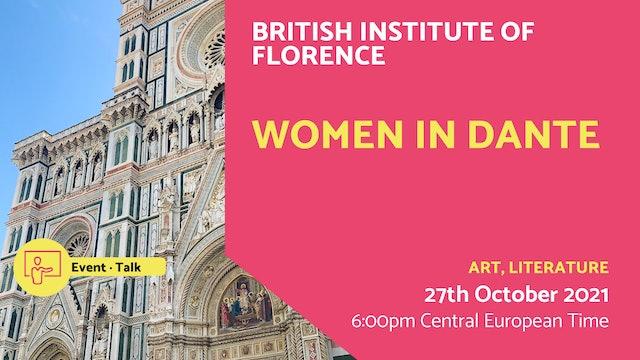 21.10.27 (Wed Oct 27th) | Women in Dante
