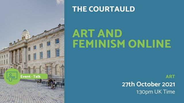 21.10.27 (Wed Oct 27th) | Art and Feminism Online