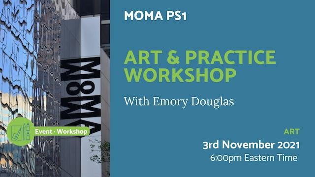 21.11.03 (Wed Nov 3rd)   Art & Practice Workshop