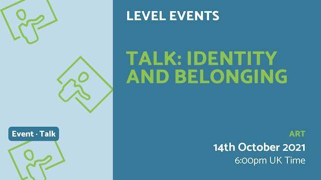 21.10.14 (Thu Oct 14th) | Talk: Ident...