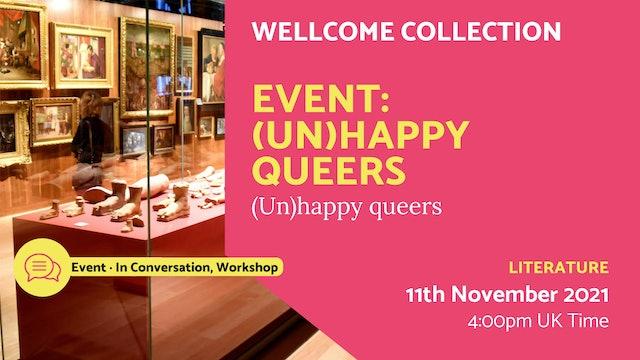 21.11.11 (Thu Nov 11th)   Event: (Un)happy queers