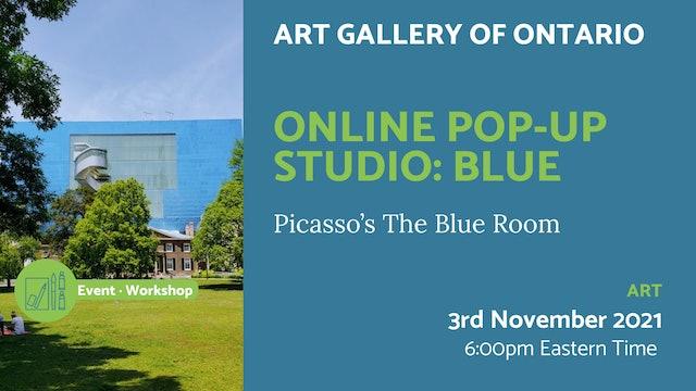 21.11.03 (Wed Nov 3rd)   Online Pop-Up Studio: Blue