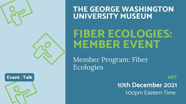 21.12.10 (Fri Dec 10th) | Fiber Ecolo...