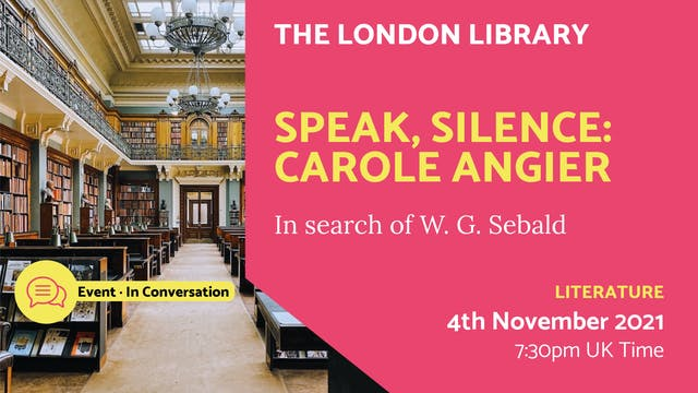 21.11.04 (Thu Nov 4th)   Speak, Silen...