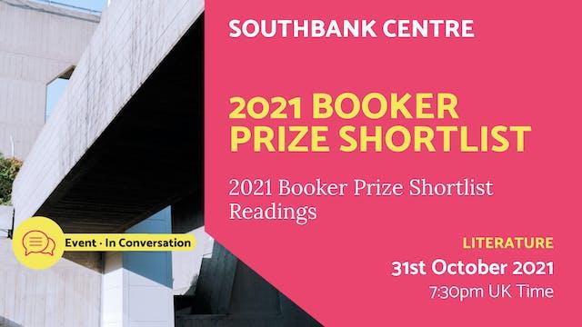 21.10.31 (Sun Oct 31st) | 2021 Booker...