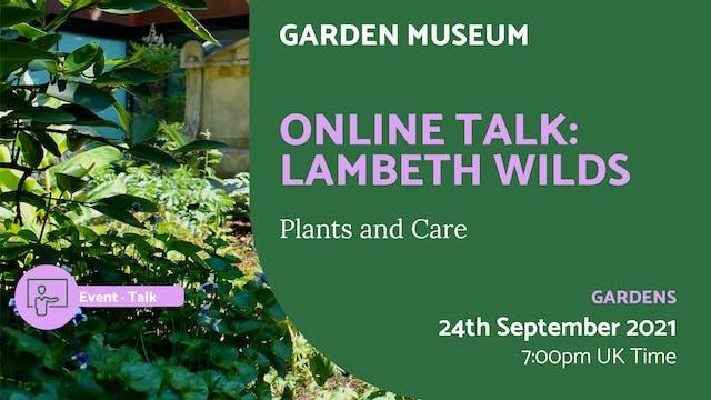 21.09.24 (Fri Sep 24th)   Online Talk...