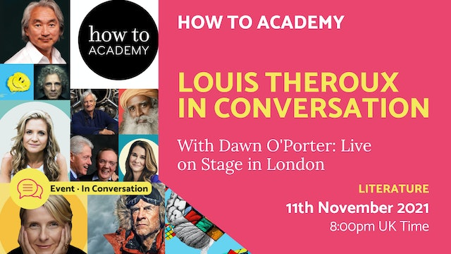 21.11.11 (Thu Nov 11th)   Louis Theroux In Conversation