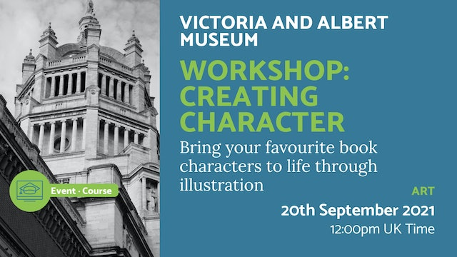 21.09.20 (Mon Sep 20th) | Workshop: Creating Character