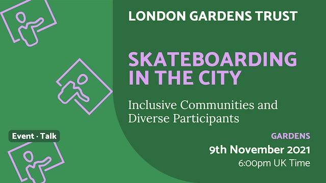 21.11.09 (Tue Nov 9th)   Skateboarding in the City
