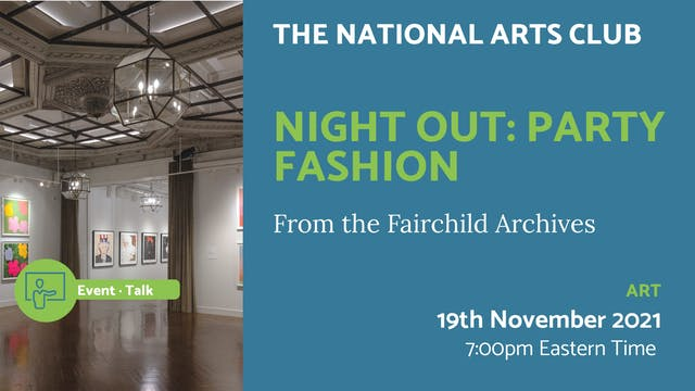 21.11.19 (Fri Nov 19th)   Night Out: ...