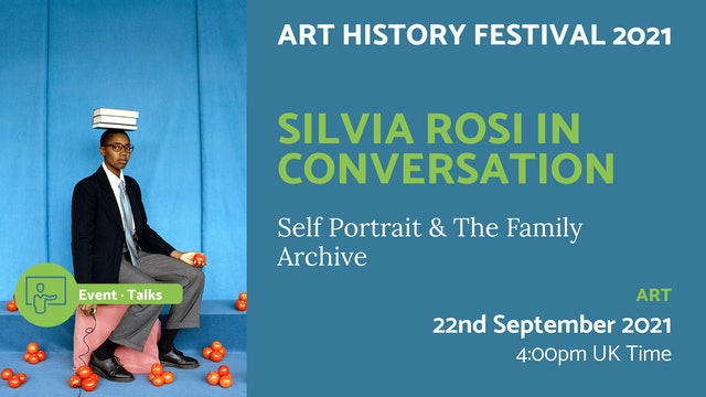 21.09.22 (Wed Sep 22nd)   Silvia Rosi in Conversation