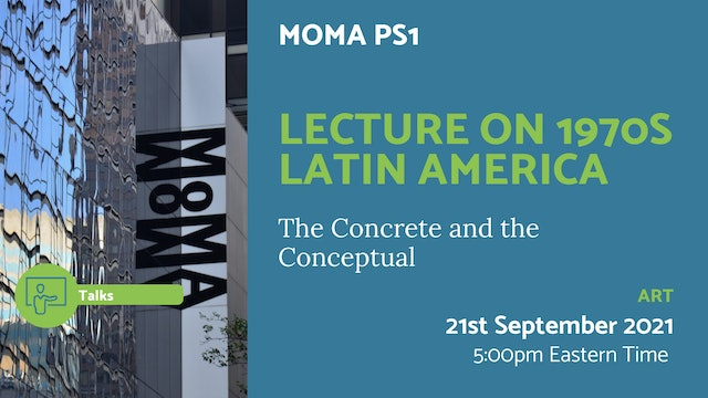 21.09.21 (Tue Sep 21st)   Lecture on 1970s Latin America