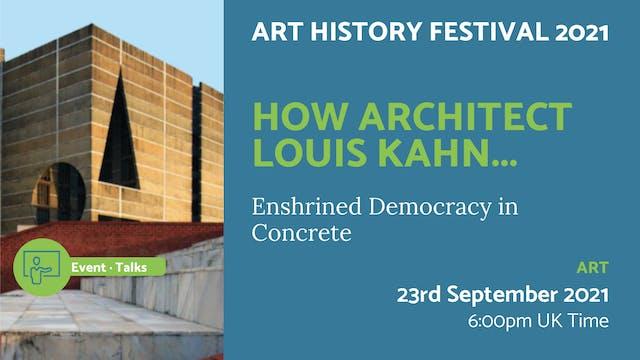 21.09.23 (Thu Sep 23rd)   How Archite...