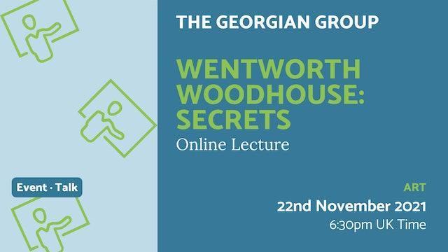 21.11.22 (Mon Nov 22nd)   Wentworth Woodhouse: Secrets