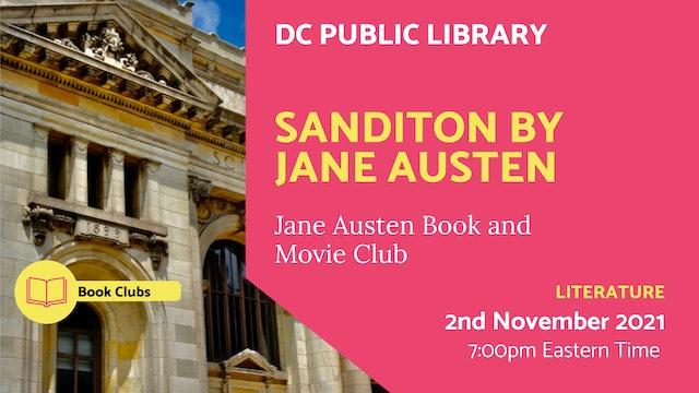 21.11.02 (Tue Nov 2nd) | Sanditon by Jane Austen