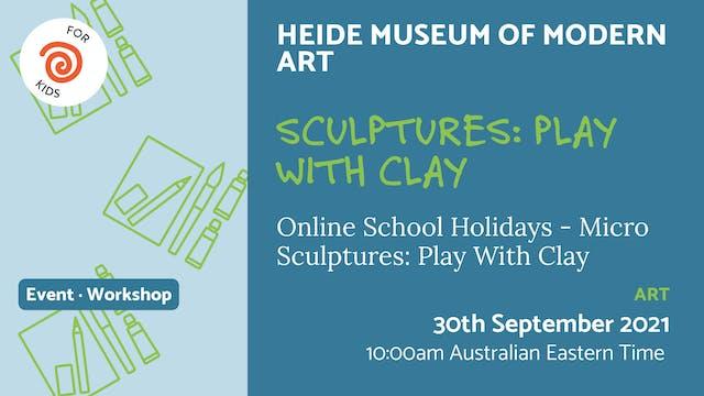 21.09.30 (Thu Sep 30th) | Sculptures:...