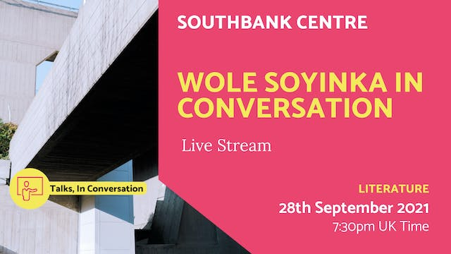 21.09.28 (Tue Sep 28th) | Wole Soyink...