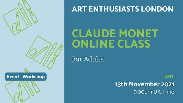 21.11.13 (Sat Nov 13th)   Claude Mone...