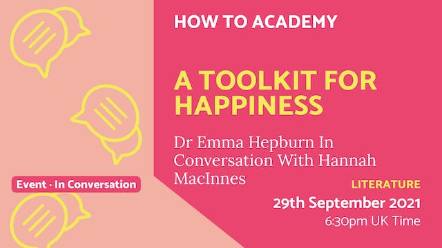 21.09.29 (Wed Sep 29th) | A Toolkit f...