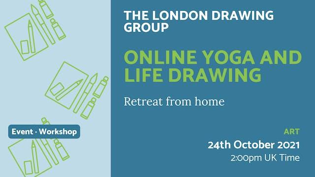 21.10.24 (Sun Oct 24th)   Online Yoga...