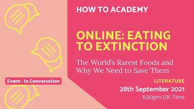 21.09.28 (Tue Sep 28th) | Online: Eat...