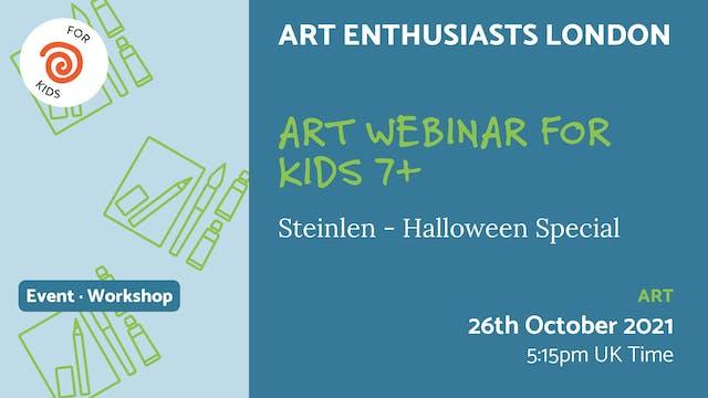 21.10.26 (Tue Oct 26th) | Art Webinar...