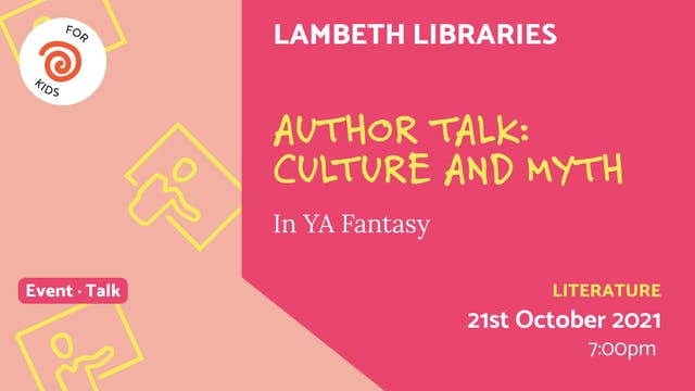 21.10.21 (Thu Oct 21st)   Author Talk...
