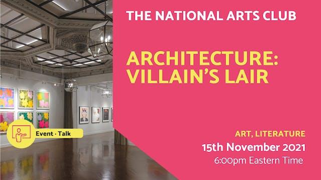 21.11.15 (Mon Nov 15th) | Architectur...