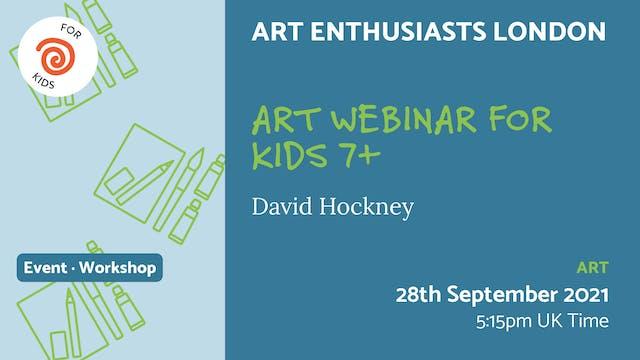 21.09.28 (Tue Sep 28th) | Art Webinar...