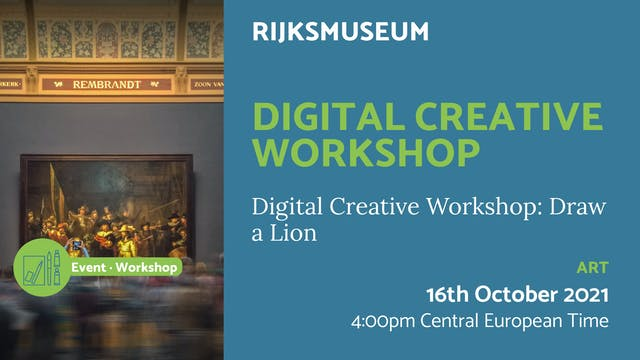 21.10.16 (Sat Oct 16th) | Digital Cre...