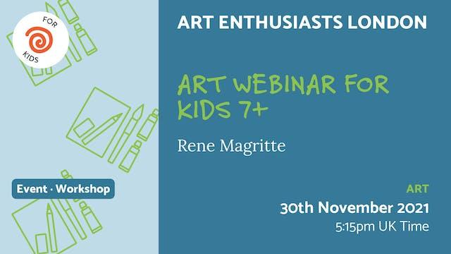 21.11.30 (Tue Nov 30th)   Art Webinar...