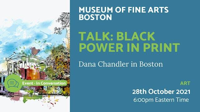21.10.28 (Thu Oct 28th) | Talk: Black...