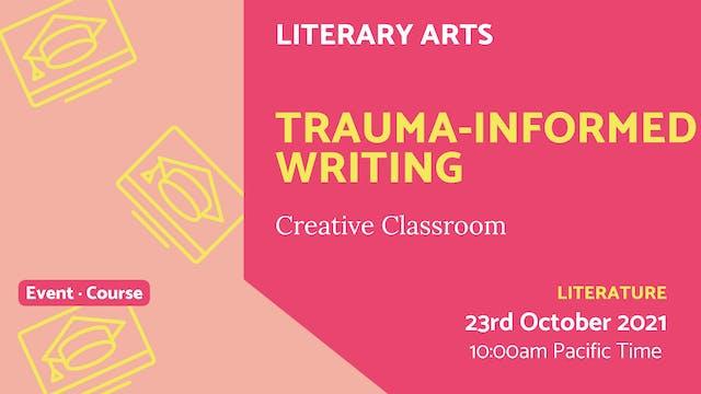 21.10.23 (Sat Oct 23rd)   Trauma-Info...