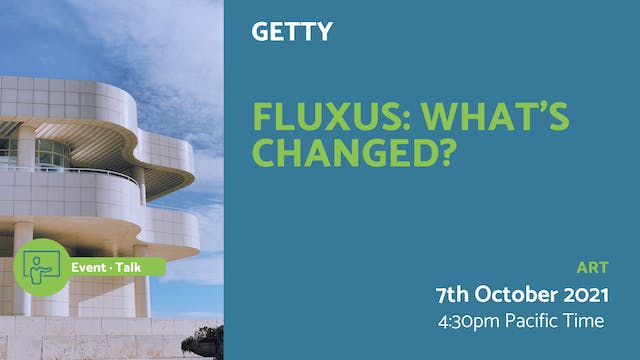 21.10.07 (Thu Oct 7th)   Fluxus: What...
