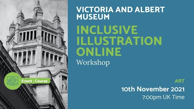 21.11.10 (Wed Nov 10th) | Inclusive Illustration Online