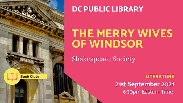 21.09.21 (Tue Sep 21st)   The Merry W...