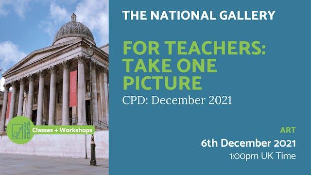 21.12.06 (Mon Dec 6th) | For Teachers...