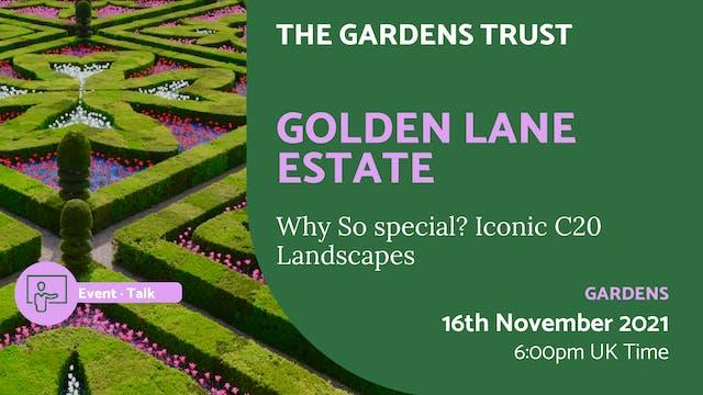 21.11.16 (Tue Nov 16th)   Golden Lane...
