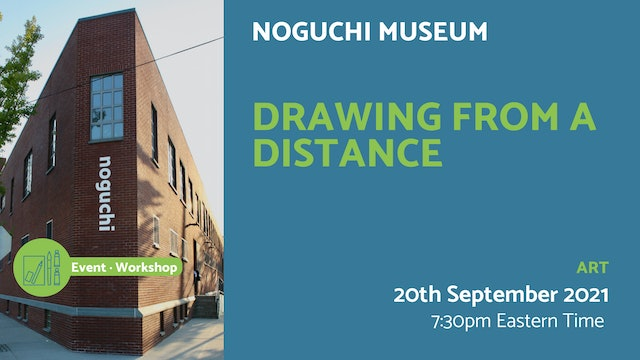 21.09.20 (Mon Sep 20th) | Drawing from a Distance