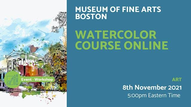 21.11.08 (Mon Nov 8th) | Watercolor C...