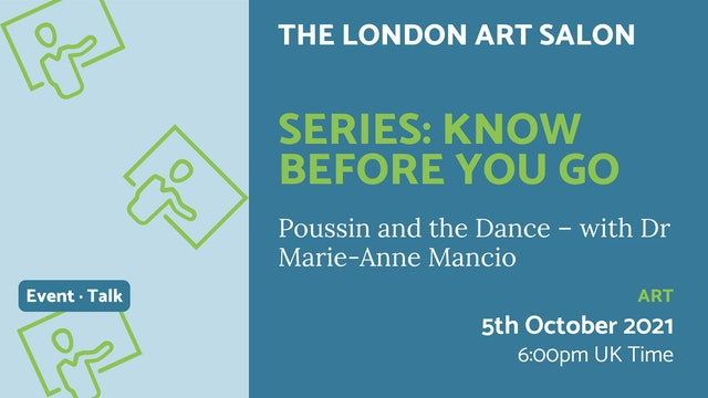 21.10.05 (Tue Oct 5th)   Series: Know before you go