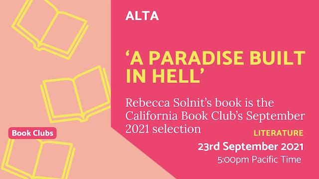 21.09.23 (Thu Sep 23rd) | 'A Paradise...