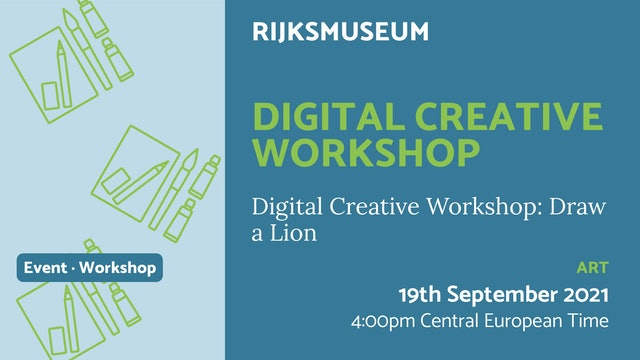 21.09.19 (Sun Sep 19th) | Digital Creative Workshop