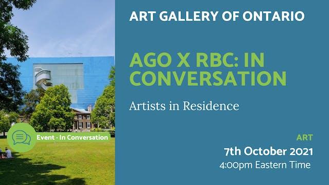 21.10.07 (Thu Oct 7th)   AGO X RBC: I...