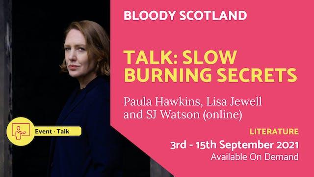 21.09.19 (Sun Sep 19th)   Talk: Slow ...