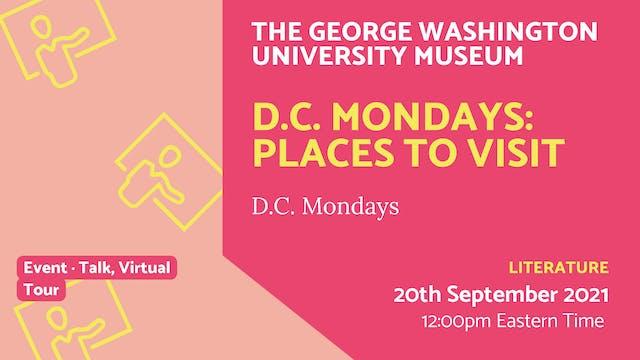 21.09.20 (Mon Sep 20th)   D.C. Monday...