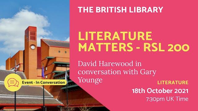 21.10.18 (Mon Oct 18th) | Literature ...