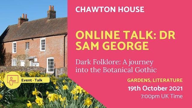 21.10.19 (Tue Oct 19th) | Online Talk...