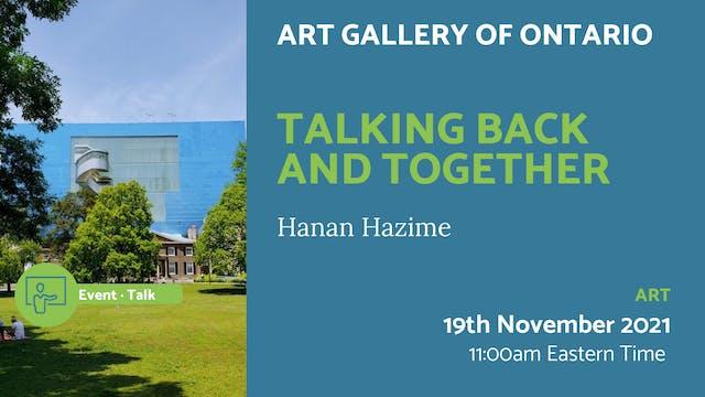 21.11.19 (Fri Nov 19th) | Talking Bac...